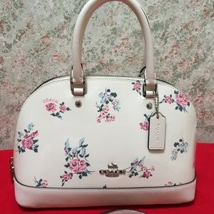 COACH SIERRA Floral Mini Dome Crossbody Satchel